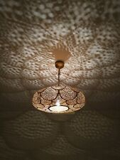 Ceiling Pendant Lamp Brass Moroccan Fixture Lighting Decor