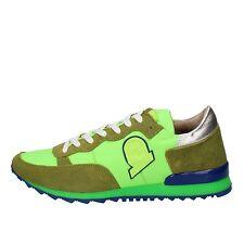 scarpe uomo INVICTA 41 EU sneakers verde camoscio tessuto  AB59-C
