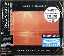 CALVIN HARRIS-FUNK WAV BOUNCES VOL. 1-JAPAN CD Ltd/Ed E25