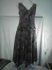 Portmans Ladies Stretch Dress in an Animal Skin Abstract Print Size M