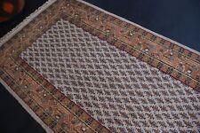 nr 2973 Handgeknüpfter ORIGINAL Teppich ORIENTAL SARUGH MIR Beige ca 159 x 90 cm