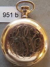 Antique Elgin 0 Size Ladies' Hunting Case Watch, U-Clean
