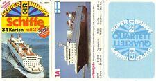 Quartett Schiffe v. FX Nr. 52310 v. 1977