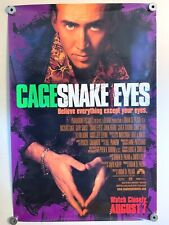 New listing Snake Eyes, 1998 27x40 - One Sheet- Movie Poster, Nicholas Cage