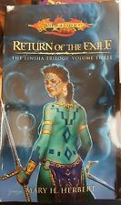 Dragon Lance Return of the Exile by Mary H. Herbert (Paperback, 2005) 0786936282