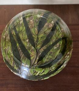 "Riccardo Marzi 9"" Wheat Grass Acrylic Salad Bowl"