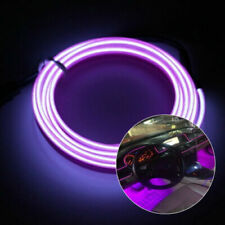 DC12V Car Party Interior EL Wire Neon Glow Decorative Light Lamp Strip 1/3m Roll