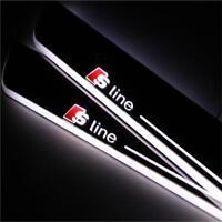 Audi S Line LED Einstiegsleisten für Audi Coupe Modelle mit Lauflicht
