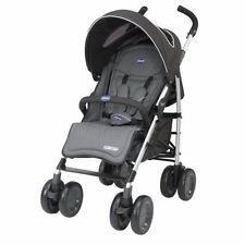 Poussettes et systèmes combinés de promenade pliants noirs pour bébé