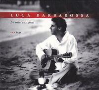 3 CD ♫ Box Set LUCA BARBAROSSA ~ LE MIE CANZONI ~ I SUCCESSI ~ THE BEST nuovo