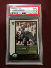 Charles Woodson 1998 Bowman Rookie Card RC PSA 9 Mint Packers Raiders
