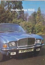 VANDEN PLAS 1500 PRINCESS (ALLEGRO SHAPE) ORIG. 1978 FACTORY UK SALES BROCHURE