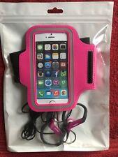 Custodia FASCIA DA BRACCIO SPORT CON AURICOLARI SPORTIVI Caso Holder Cinturino per Apple iPhone maxtek
