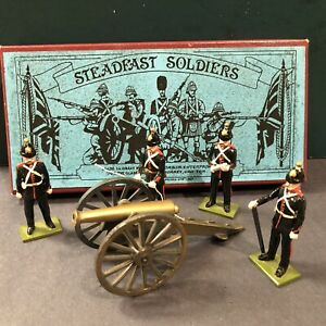 Steadfast: British Artillery. c1900. 54mm Metal Models
