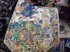 Vintage Original 1973 Doodle Art Mythology Poster Gerrard D.Y.O.T. Holdings