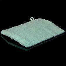 100 Waschlappen 380 g/qm Waschhandschuh Mint 100% Baumwolle