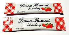 12 pcs x Bonne Maman Strawberry Jam Sachet 15g Pack mini single portions