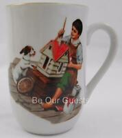 Norman Rockwell Museum A Dollhouse For Sis Vintage Coffee Mug Cup