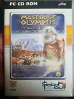 MASTER OF OLYMPUS: ZEUS PC CD-ROM Game 2005 Sierra/Sold Out