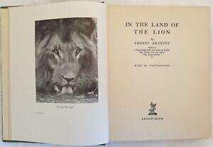 STORIA NATURALE KEARTON IN THE LAND OF THE LION LEONE GIRAFFA SCIMMIE SERPENTI