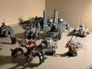 Warhammer 40k Chaos Nurgle Soul Grinder Leman Russ Basilisk Predator Cypher lot