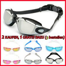 Schwimmbrillen Taucherbrille Sport Antibeschlag UV-Schutz Erwachsene Kinder Neu.