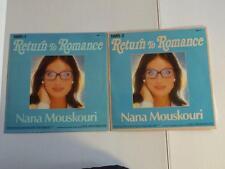 NANA MOUSKOURI LP Record LOT of 2 RETURN TO ROMANCE NMR-1 & 2