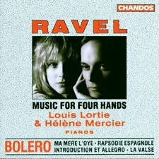 aurice Ravel - Ravel: Music for Four Hands [CD]