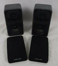 2 POLK AUDIO RM Series II Shielded Satellite RMSS Speakers