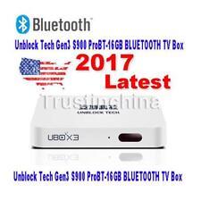Unblock Tech Gen3 S900 ProBT-16GB BLUETOOTH UBox IIl TV Box 安博盒子 全球適用 美加歐洲華僑適用