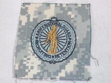 Genuine ACU US Army NATIONAL GUARD Cloth Uniform Badge