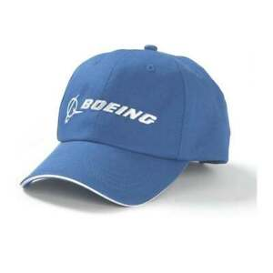 A classic essential Boeing baseball cap in relaxed chino style cloth in Boeings