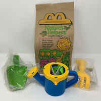 Vintage 1990 McDonalds Natures Helpers Happy Meal 1 Bag and 3 Toys Fast Food