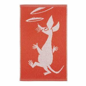 Moomin Sniff Orange Hand Towel 30 x 50 cm