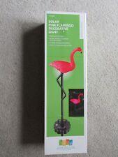 Solar Pink Flamingo Decorative Light - Small