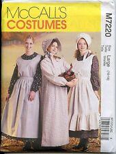 Misses Pioneer Dress, Apron & Sunbonnet Pattern - Size Large (16-18) - NEW