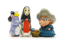 4pcs/set Ghibli Spirited Away No Face Man Basket PVC Figure Model