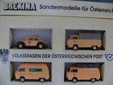 1/87 Brekina Volkswagen der österreichischen Post Sondermodelle Set