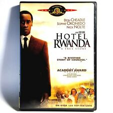 Hotel Rwanda (Dvd, 2004, Widescreen) Like New ! Don Cheadle Nick Nolte