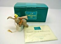 """WDCC 11K412830, Dumbo, """"When i see an elephant Fly"""", Dumbo & Timothy Mouse + COA"""