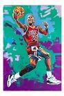 Michael Jordan paper print 18x12 Original art made by Xilberto
