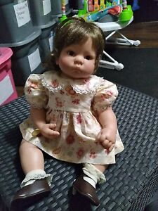 Lee Middleton Doll By Reva Date/Time Stamp 22""