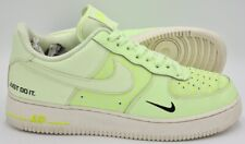 Nike Air Force 1 LV8 Leather Trainers CT2541-700 Barely Volt UK9.5/US10.5/EU44.5