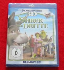 Shrek Der Dritte, 3D Blu-Ray, in 2D abspielbar, Neu