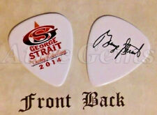 GEORGE STRAIT band logo signature guitar pick -(v)