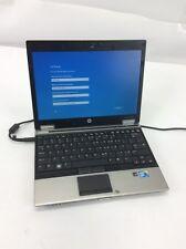 HP EliteBook 2540p I7-L640 2.13GHz 4GB DDR3 160GB HDD Windows 10 Home #U16776