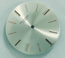 UNIVERSAL GENEVE SILVER DIAL 29MMS VINTAGE REPLACEMENT