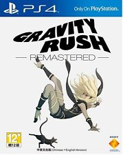 Gravity Rush Remastered HK Chinese/English subtitle Version PS4 NEW
