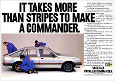 VAUXHALL CAVALIER COMMANDER RETRO A3 POSTER PRINT FROM 80's ADVERT
