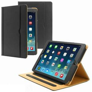 Genuine Leather TAN Smart Stand Case Cover For Apple ipad 10.2,10.9,11Pro,12.9""
